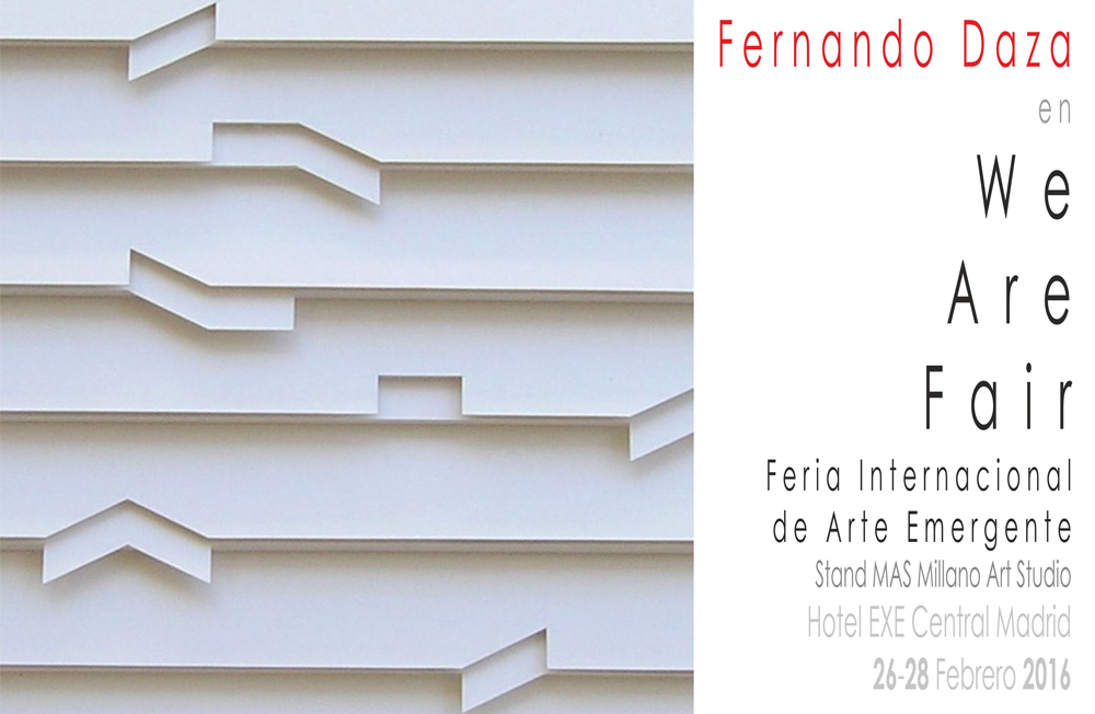 """We Are Fair. Feria Internacional de Arte Emergente"""