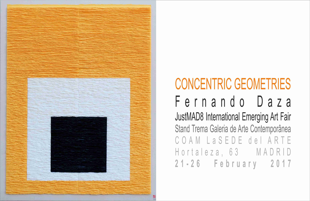 Concentric geometries. Justmad / 8, International Emerging Art Fair
